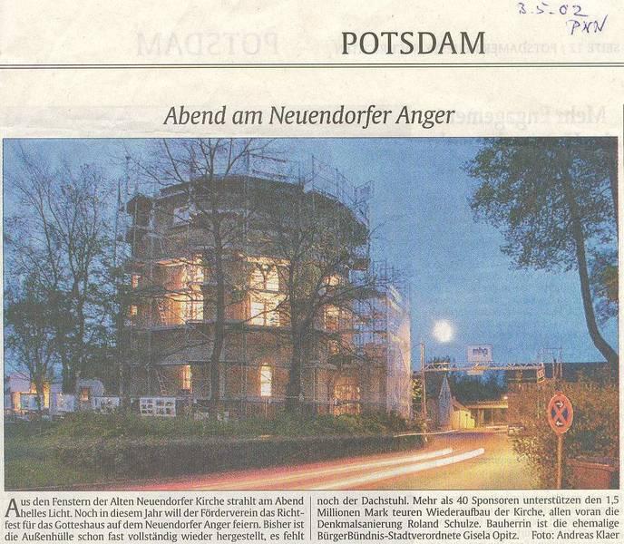 Abend am Neuendorfer Anger