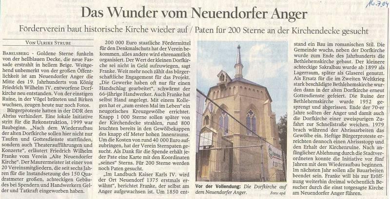 Das Wunder vom Neuendorfer Anger